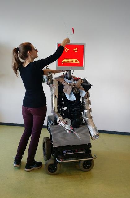 KwantorX, a robot by Gidi